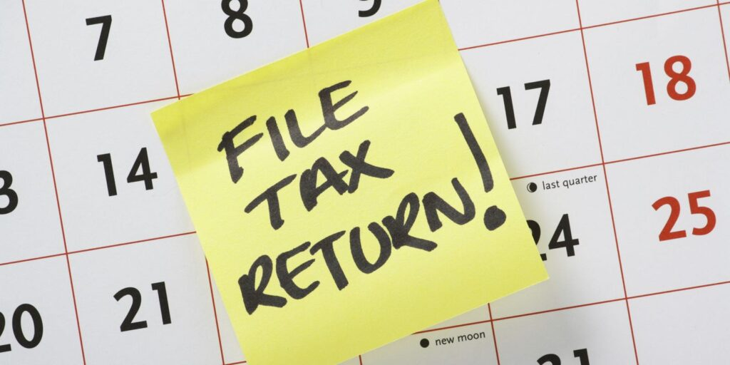 When To File Tax Return